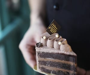 cake, chocolate, and patisserie image