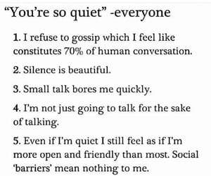 introvert, silence, and quiet image