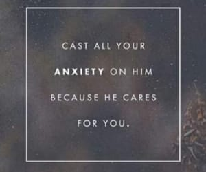 anxiety, god, and 1 peter 5:7 image