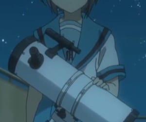anime, telescope, and haruhi suzumiya image