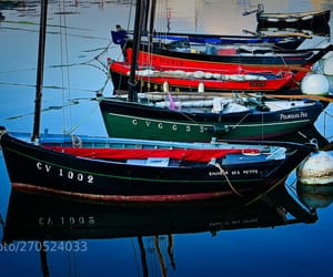 boating, photo, and f image