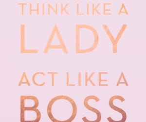 boss, think, and lady image