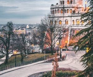 budapest, castle, and pest image