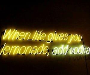inspiration, lemonade, and neon lights image