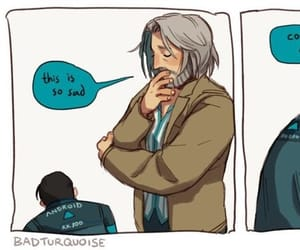 Connor, funny, and Hank image