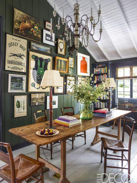ElleDecor Dining Room Inspirations On We Heart It
