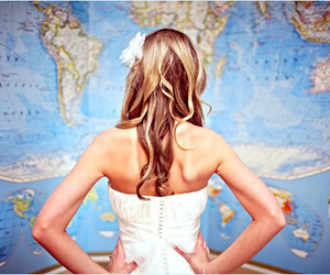 geography, girl, and photography image