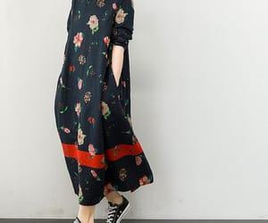 dresses, large size dress, and etsy image