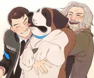 fanart, Hank, and detroit become human image