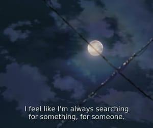 aesthetic, anime, and moon image