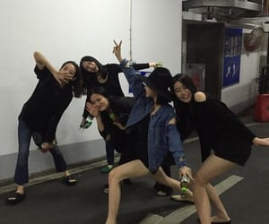 ulzzang, asian, and friends image