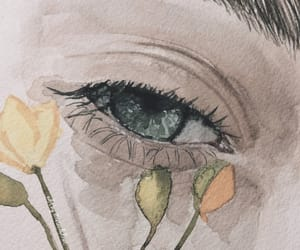 tumblr inspiration, aesthetic gallery, and watercolor paint image