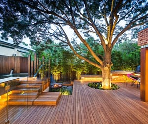 deck, outside, and home image