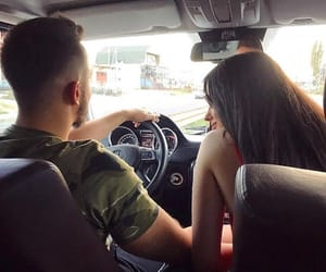 boys, cars, and couple image