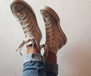 converse, fashion, and aesthetic image