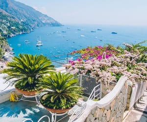 italy, summer, and positano image