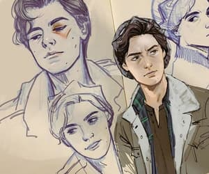 riverdale, drawing, and cole sprouse image