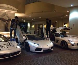 gang, Lamborghini, and white image