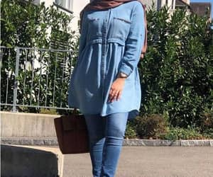 dress, skirt, and hijabi blogger image