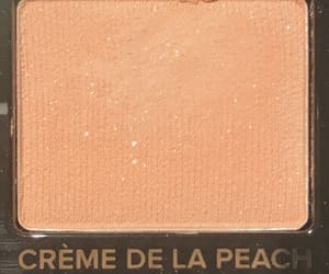 peach, eyeshadow, and makeup image