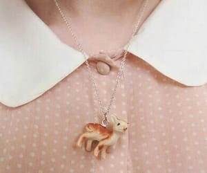 accessory, deer, and blouse image