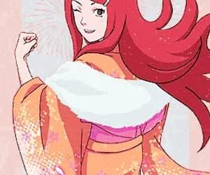 gif, girl, and manga image