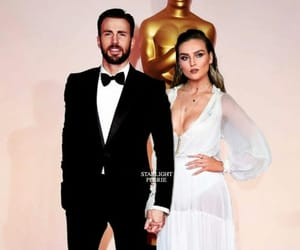 chris evans and perrie edwards image