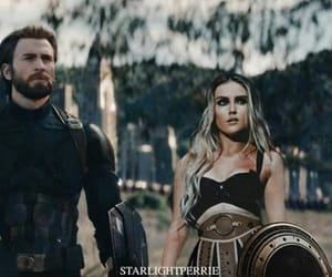 chris evans, steve, and perrie edwards image