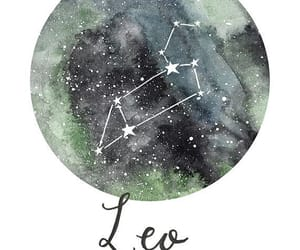 astrology, Leo, and zodiac image