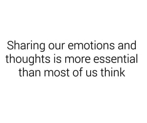 emotions, important, and quote image