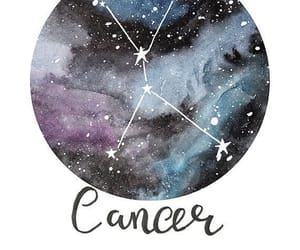astrology, cancer, and zodiac image