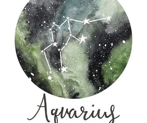 aquarius, astrology, and zodiac image
