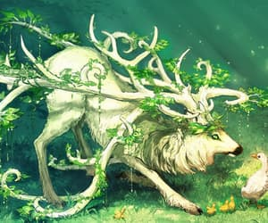 nature, fantasy, and anime image