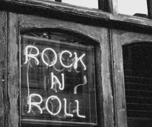 black&white, old pic, and rock image