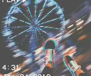 night, shoes, and vans image