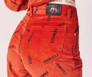 orange, fashion, and Fiorucci image