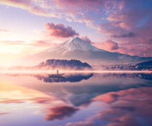 aesthetic, boat, and landscape image