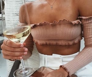 chic, drink, and classy image