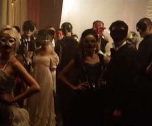 couples, dance, and masks image