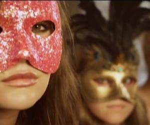 beauty, girl, and masks image
