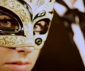 beauty, masks, and woman image