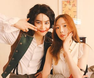 exo, taeyeon, and smtown image