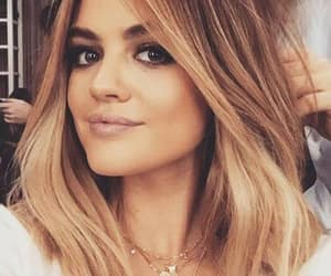 lucy hale, pretty little liars, and hairstyle image