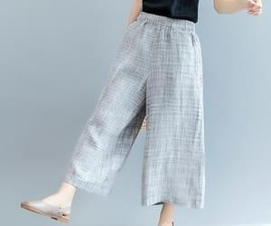 etsy, wide leg pants, and summer pants image