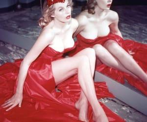 1955, anita ekberg, and vintage image