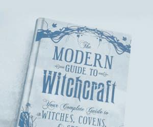 magic, blue, and book image