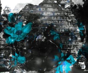black, blue, and deviantart image
