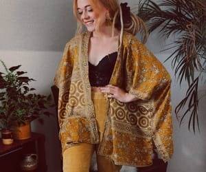 bohemian, boho, and fashion image