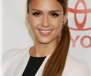 alba, hair, and ponytail image