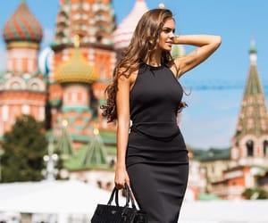 model, viki odintcova, and rusia image